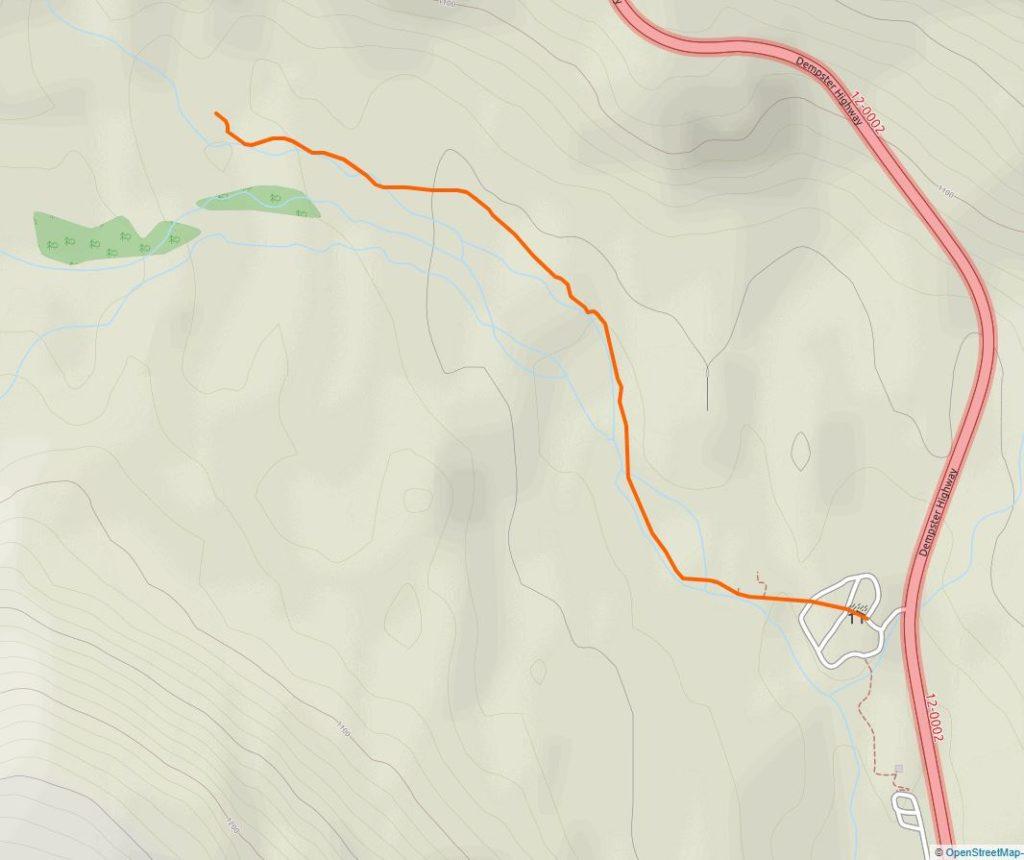 North Klondike River Trail Map